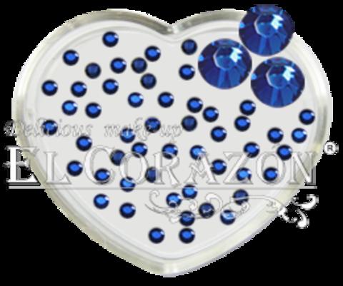 ЭК Стразы стеклянные 100шт/112  SS6-ярко-синий