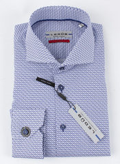 Рубашка Ledub slim fit 0136831-170-000-000-SF-Blue