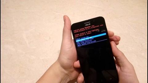 Перепрошивка телефона Asus