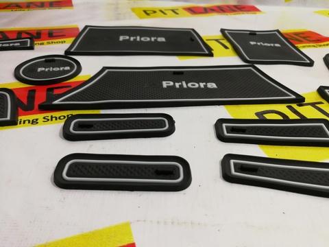 Коврики силиконовые панели приборов Лада Приора