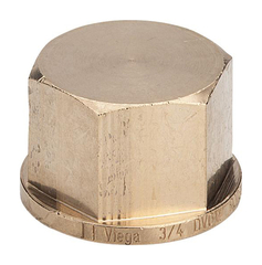 Viega заглушка (бронза) 1