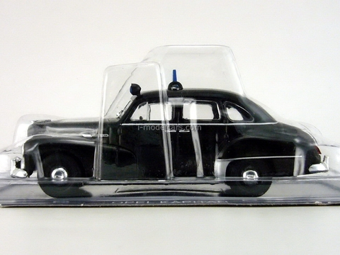 Opel Kapitan 1951 East Germany Police 1:43 DeAgostini World's Police Car #68