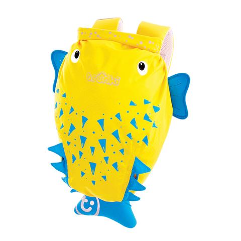 Рыба Ёж Спайк: детский рюкзак для бассейна Trunki