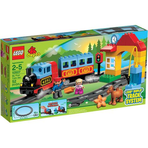 LEGO Duplo: Мой первый поезд 10507 — My First Train — Лего Дупло