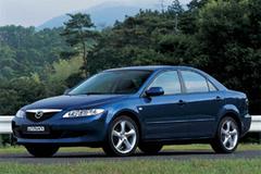 Защита передних фар позрачная Mazda Mazda 6 2003- (EGR3744)