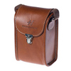 Stellar camera case brown leather