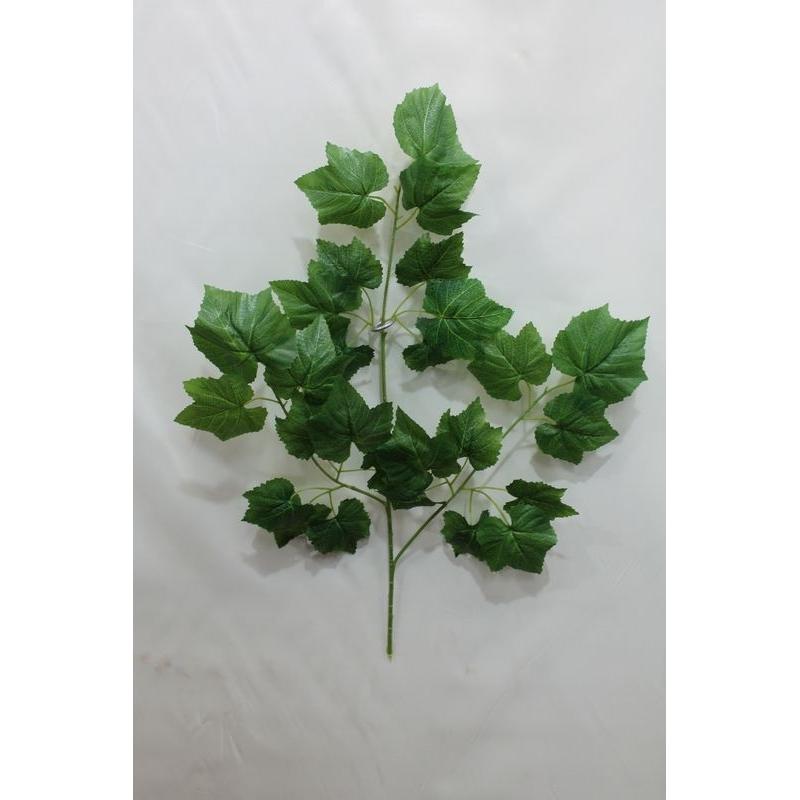 Ветка дерева винограда 75 см, 18 листьев 7-10 см.