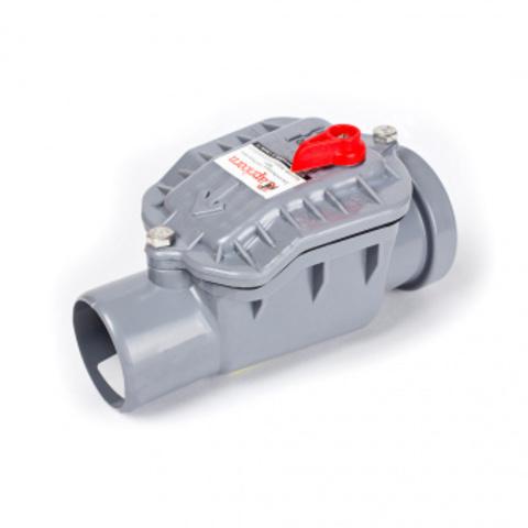 Обратный клапан ПВХ Ø110