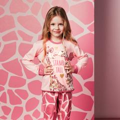 Детская женская пижама E19K-54P101
