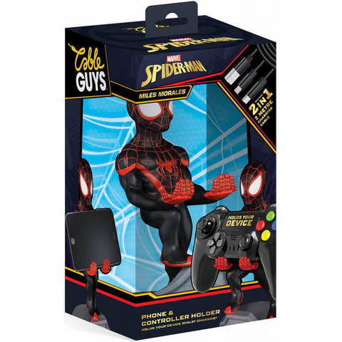 Подставка Cable guy: Marvel: Miles Morales Spiderman CGCRMR300132