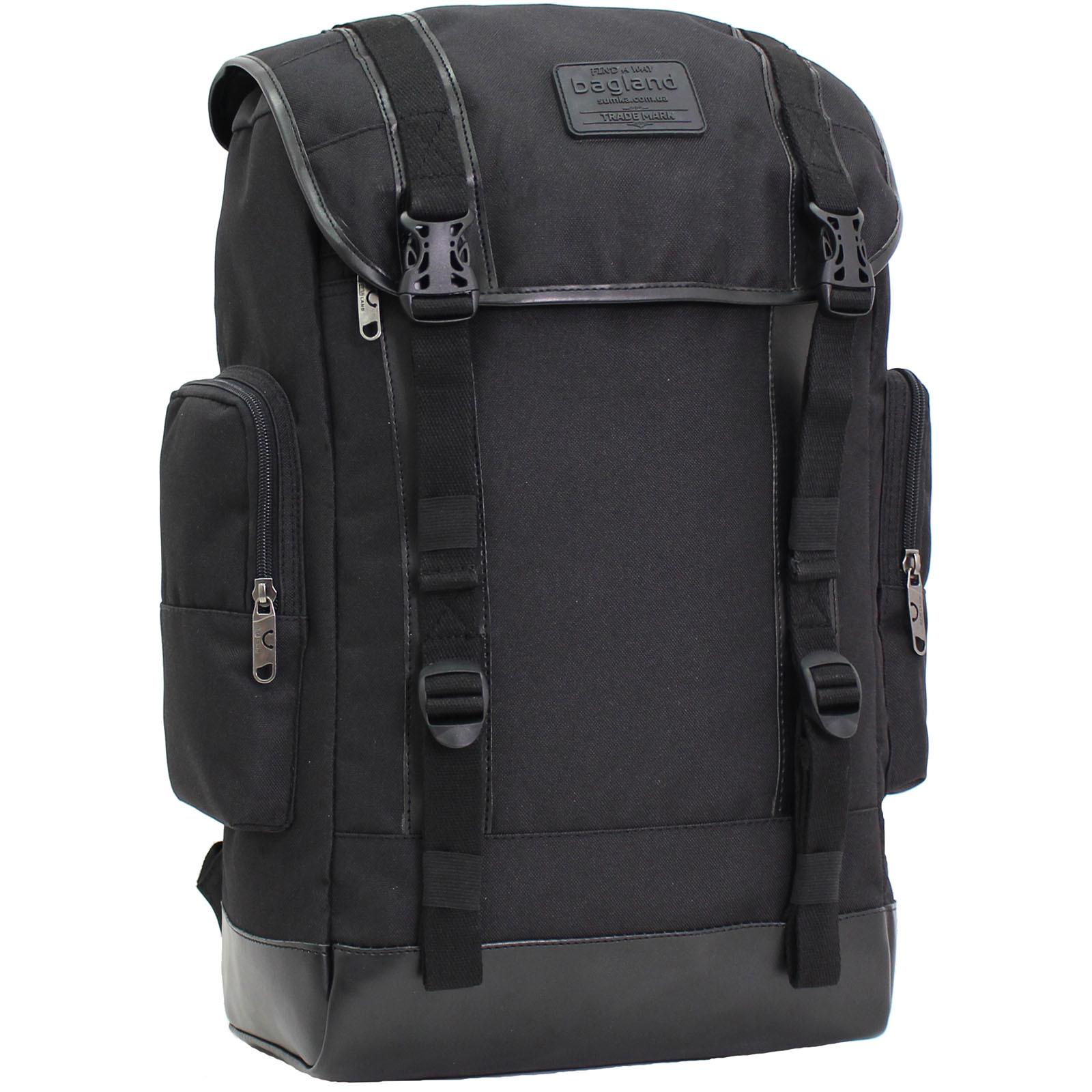 Городские рюкзаки Рюкзак для ноутбука Bagland Palermo 25 л. Чёрный (0017966) IMG_9350.JPG