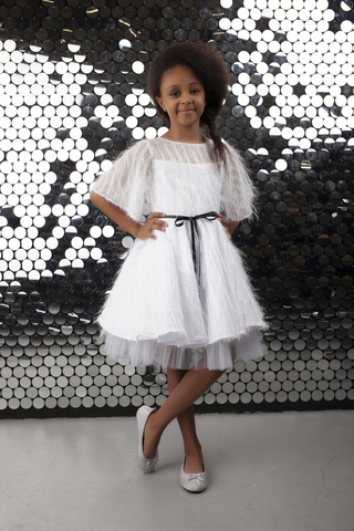 "Шикарное платье ""White Chic"""