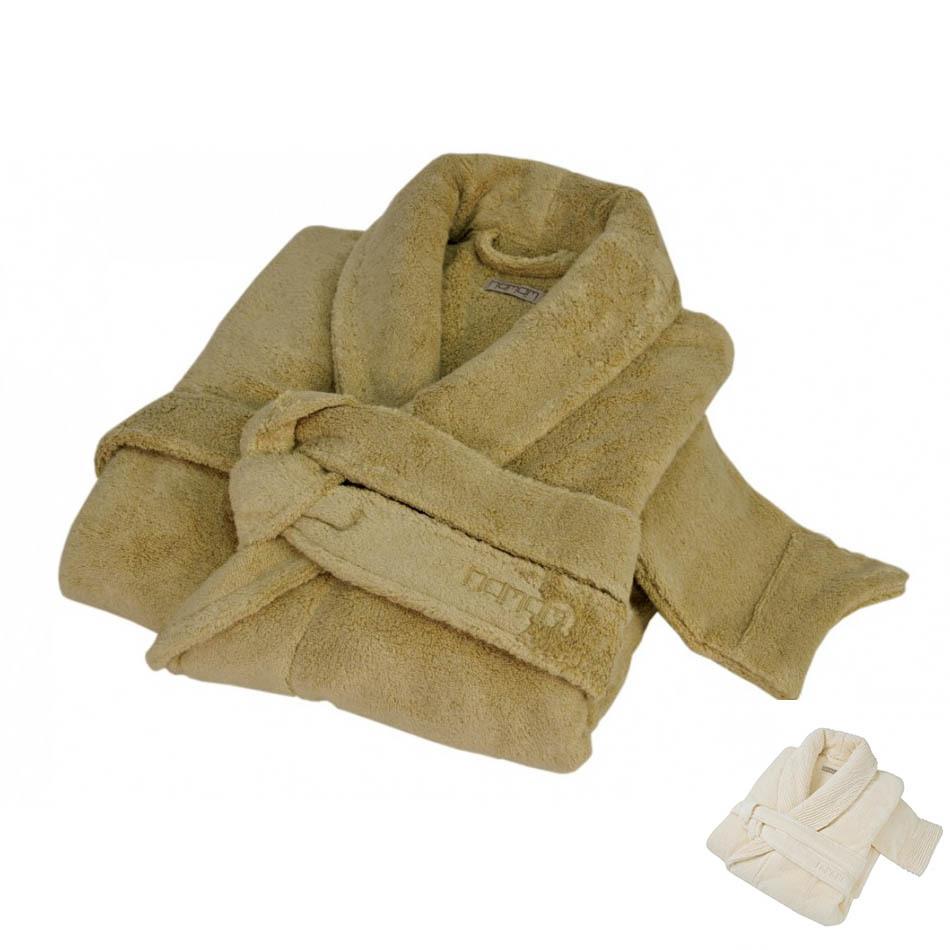 Элитный халат женский Sultan слоновая кость от Hamam