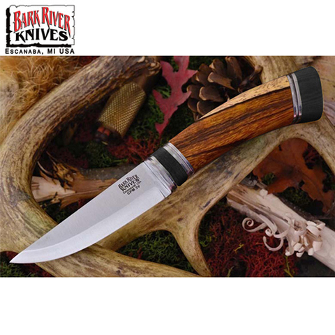 Нож Bark River Scandi модель Desert Ironwood Black Paper Spacer