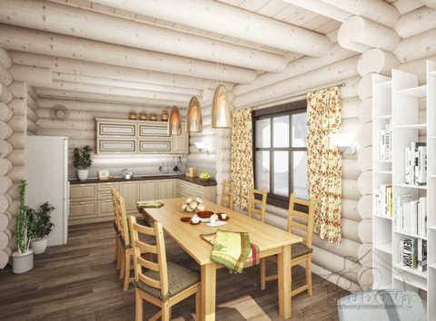 визуализация дома по проекту 633 в Жилино