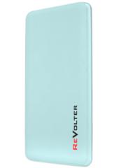 Портативное зарядное устройство ReVolter 5000 Power Bank Голубой