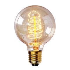 Круглая ретро лампа Эдисона Squirrel Vintage Bulb 40W