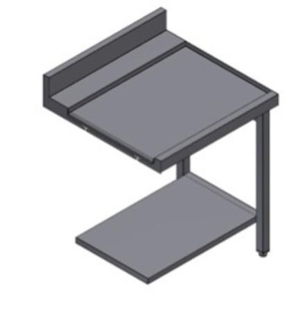 фото 1 Стол для посудомоечной машины Kayman СПМ-112/0707 Л на profcook.ru