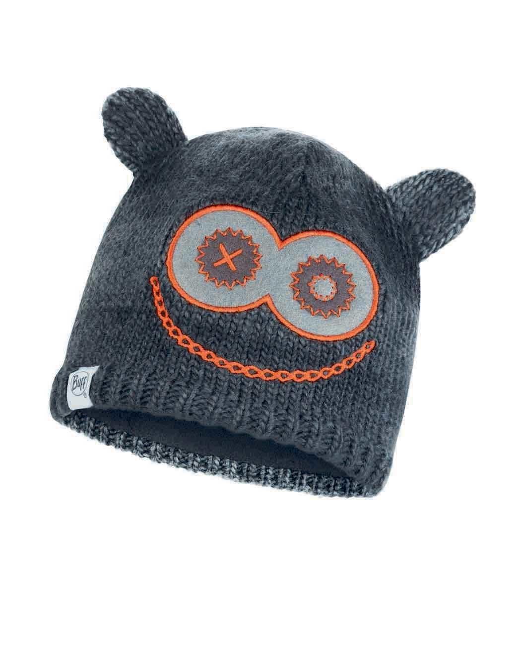 Детские шапки Вязаная шапка с флисовой подкладкой детская Buff Hat Knitted Polar Monster Jolly Black 113452.999.10.00.jpg