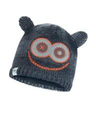Вязаная шапка с флисовой подкладкой детская Buff Hat Knitted Polar Monster Jolly Black
