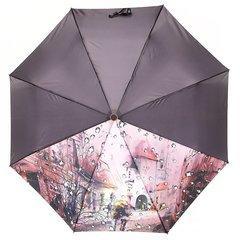 Зонт женский, город с каплями, Planet PL-154-6