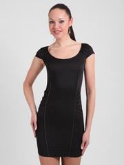 0854-4 сарафан женский, черный