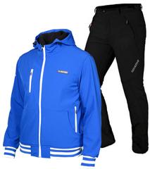Лыжный утепленный костюм Mormaii Dark Blue Grassi мужской