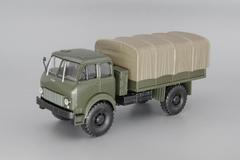 1:43 МАЗ-505 (1962) полноприводный грузовик с тентом, хаки