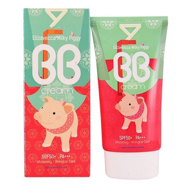 Elizavecca BB крем для лица увлажняющий Milky Piggy BB Cream SPF50, 50 мл