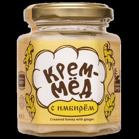 Крем-мёд с имбирем