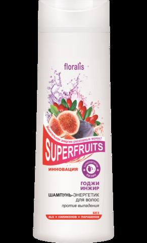 Floralis Superfruits Шампунь-энергетик для волос «Годжи и Инжир»400г