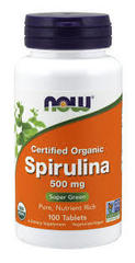 NOW SPIRULINA 500mg (100 TABS)