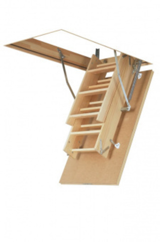Чердачная лестница Fakro LWS Plus 60х130х305 см