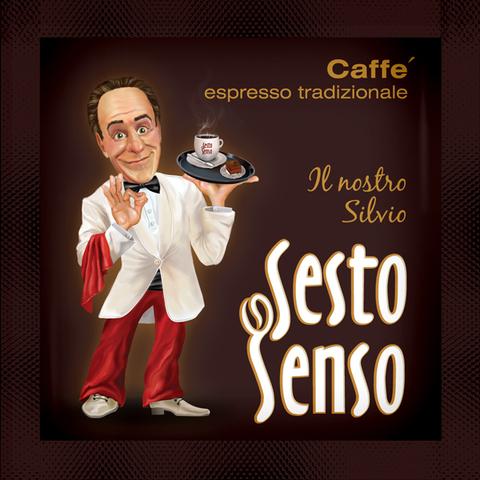 Sesto Senso Кофе в чалде Il nostro Silvio ЭСПРЕССО ТРАДИЦИОНАЛЕ