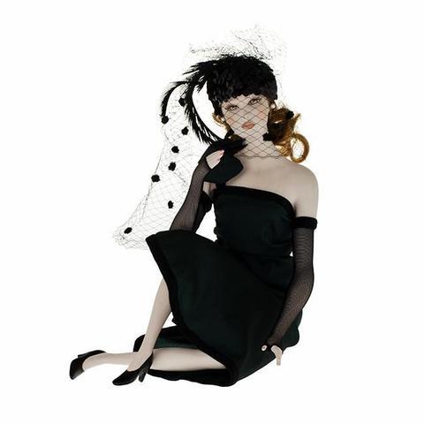 Кукла фарфоровая коллекционная Marigio Manuela