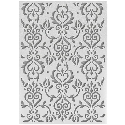 Папка для тиснения Ultimate Crafts Embossing Folder A2 - Zephyr Flourish