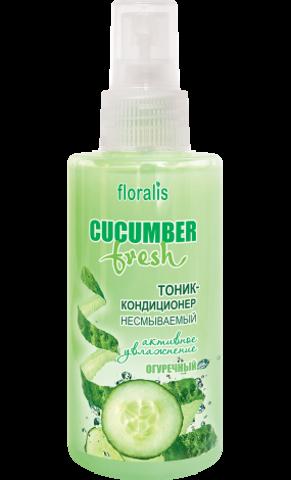 Floralis Cucumber Fresh Тоник-кондиционер Огуречный несмываемый для волос 140мл