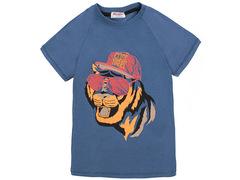 702-15 футболка детская, синяя