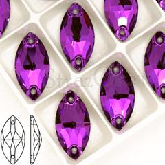 Купите стразы пришивные Navette Amethyst, Лодочка фиолетовые оптом