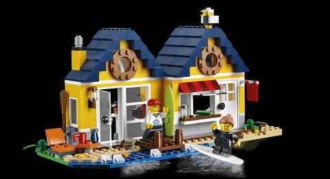 LEGO Creator: Домик на пляже 31035