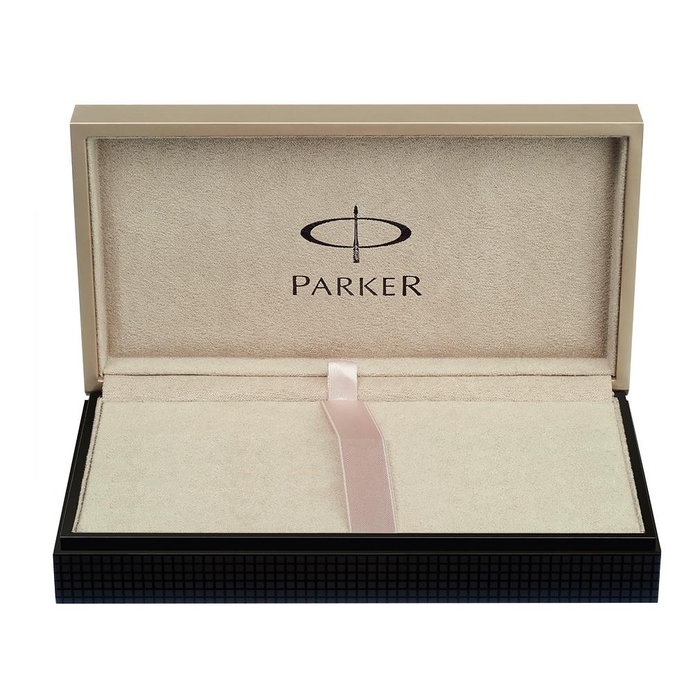 Parker Duofold - Pearl & Black, шариковая ручка, M, BL