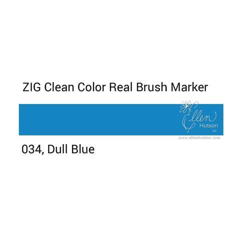 Маркер акварельный ZIG Clean Color Real Brush- штучно - 034