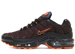 Кроссовки Мужские Nike Air Max Plus (TN) Black / Orange