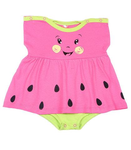 Cherubino Боди-платье для девочки CSN4160 (171) арбузный