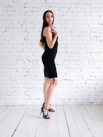 Платье на одно плечо арт.231