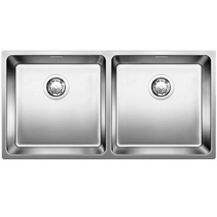 Мойка кухонная 86,5х44 см Blanco Andano 400/400-IF 522985 фото