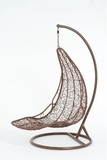 Подвесное кресло-шезлонг Vinotti Maddalena Brown