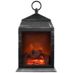 Декоративный светильник–фонарь Уютный Камин