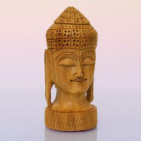 Голова Будды деpево h~11 см