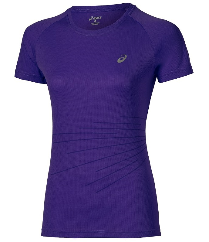 Спортивная футболка Asics LiteShow Graphic Top SS (130344 0270) женская